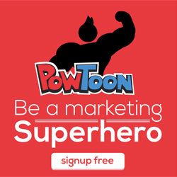 Be a video marketing superhero with PowToon