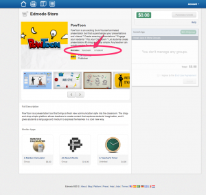 Powtoon on Edmodo 4