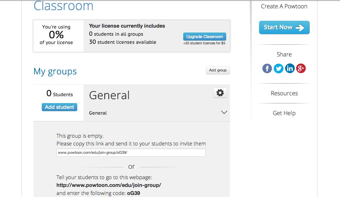 PowToon for EDU - flipped classroom - How To