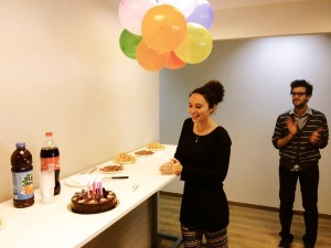 Community Manager, community, happy birthday, celebration, work party, office party, office celebration, birthday party