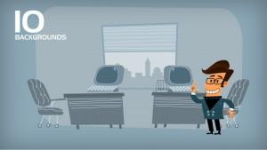 Presentation animation templates from PowToon
