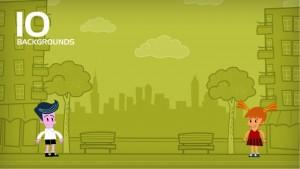 Powtoon animation template designs