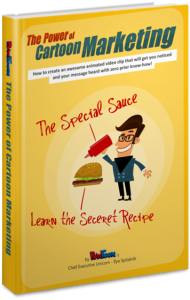 PowToon eBook about Cartoon marketing